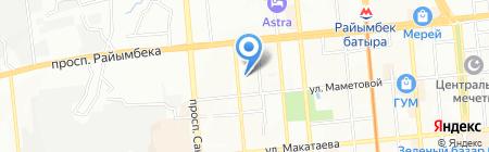 Red Apple сеть мебельных салонов на карте Алматы