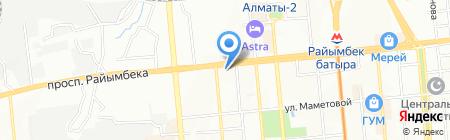 Ciorap на карте Алматы