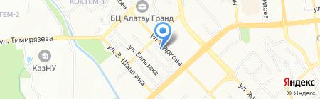 Аксоран ТОО на карте Алматы