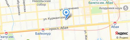 Эллени на карте Алматы