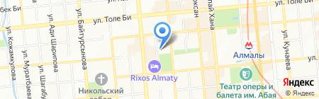 Лашын Тулпар на карте Алматы