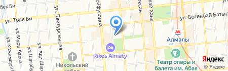 Люрикс на карте Алматы