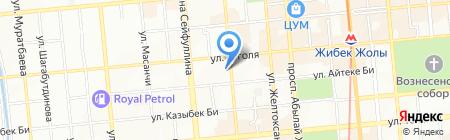 Альтера на карте Алматы