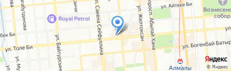 Ар на карте Алматы