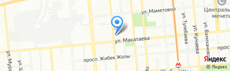 Модный перекресток на карте Алматы