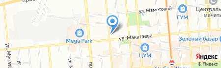 У Виктора на карте Алматы