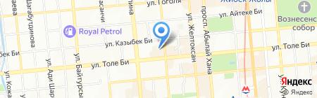 АВИСТА на карте Алматы