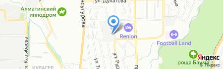 Домовой на карте Алматы