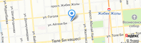 7 lines на карте Алматы