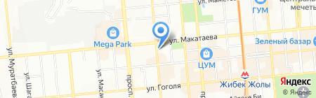 Диана продуктовый магазин на карте Алматы