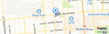 Браво плюс на карте Алматы