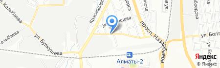Фикус на карте Алматы