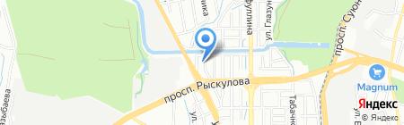 ОТАН на карте Алматы