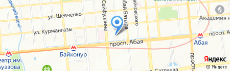 Navigant Travel на карте Алматы