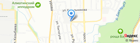 Алекс на карте Алматы