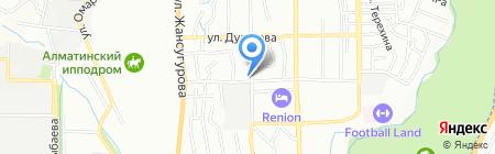 Меркурий на карте Алматы