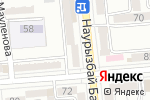 Схема проезда до компании FINNFLOOR в Алматы