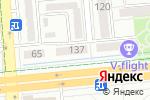Схема проезда до компании Cleopatra в Алматы