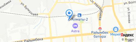 G-U Казахстан на карте Алматы