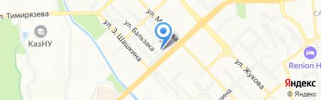Банк Астаны на карте Алматы