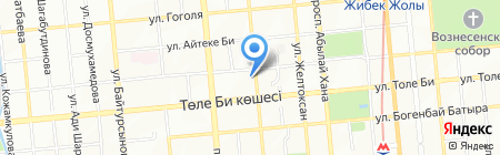 Flower-shop.kz на карте Алматы