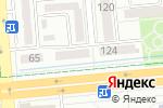 Схема проезда до компании Main Latte в Алматы