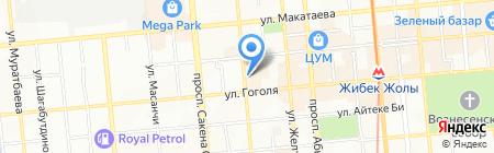 Подиум Статус на карте Алматы