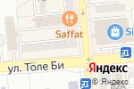 Схема проезда до компании Big Ben в Алматы