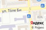 Схема проезда до компании Казахский университет международных отношений и мировых языков им. Абылай хана в Алматы