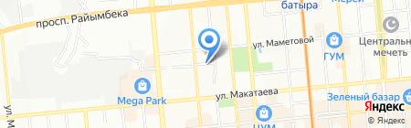 М-АРИ на карте Алматы