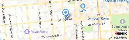 Палата профессиональных бухгалтеров Республики Казахстан на карте Алматы