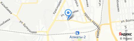 Луна на карте Алматы