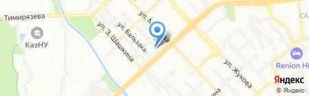 Concept на карте Алматы