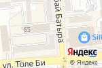 Схема проезда до компании Liana в Алматы