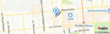Golden Lion на карте Алматы