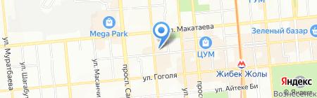 Favourite Travel Agency на карте Алматы