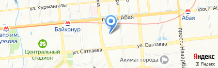 Болашак детский сад на карте Алматы