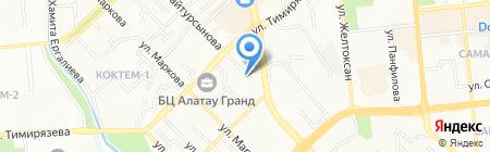 Qazaq Banki на карте Алматы