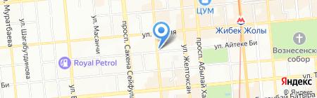 БАРЫС-Кредит на карте Алматы