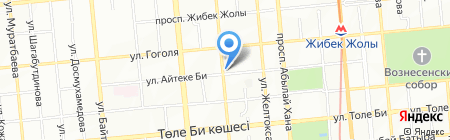 SAN BELL на карте Алматы