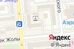 Схема проезда до компании Cross Way в Алматы
