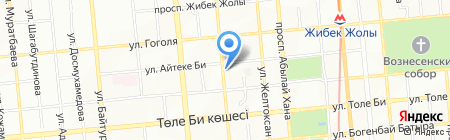 Технопласт на карте Алматы