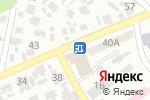 Схема проезда до компании Азия, минимаркет в Алматы