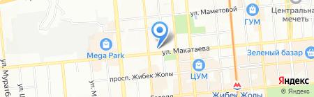 Детский сад №93 на карте Алматы