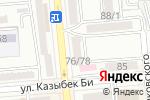 Схема проезда до компании Балтик-Порт Логистика в Алматы