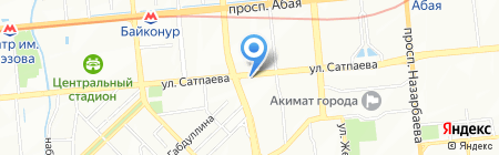 Millennium Travel на карте Алматы