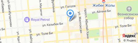 Центр медицинских и психологических проблем на карте Алматы
