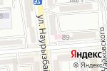 Схема проезда до компании Здравная чаша в Алматы