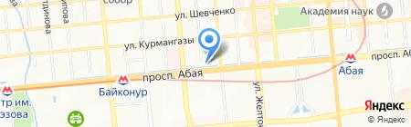 Восточка на карте Алматы