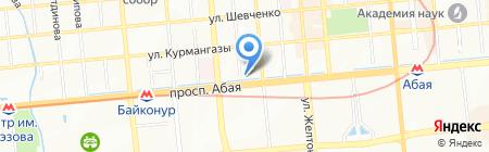 ABTravel на карте Алматы